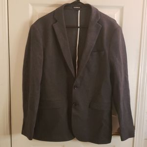 Express Gray Blazer 38S Slim